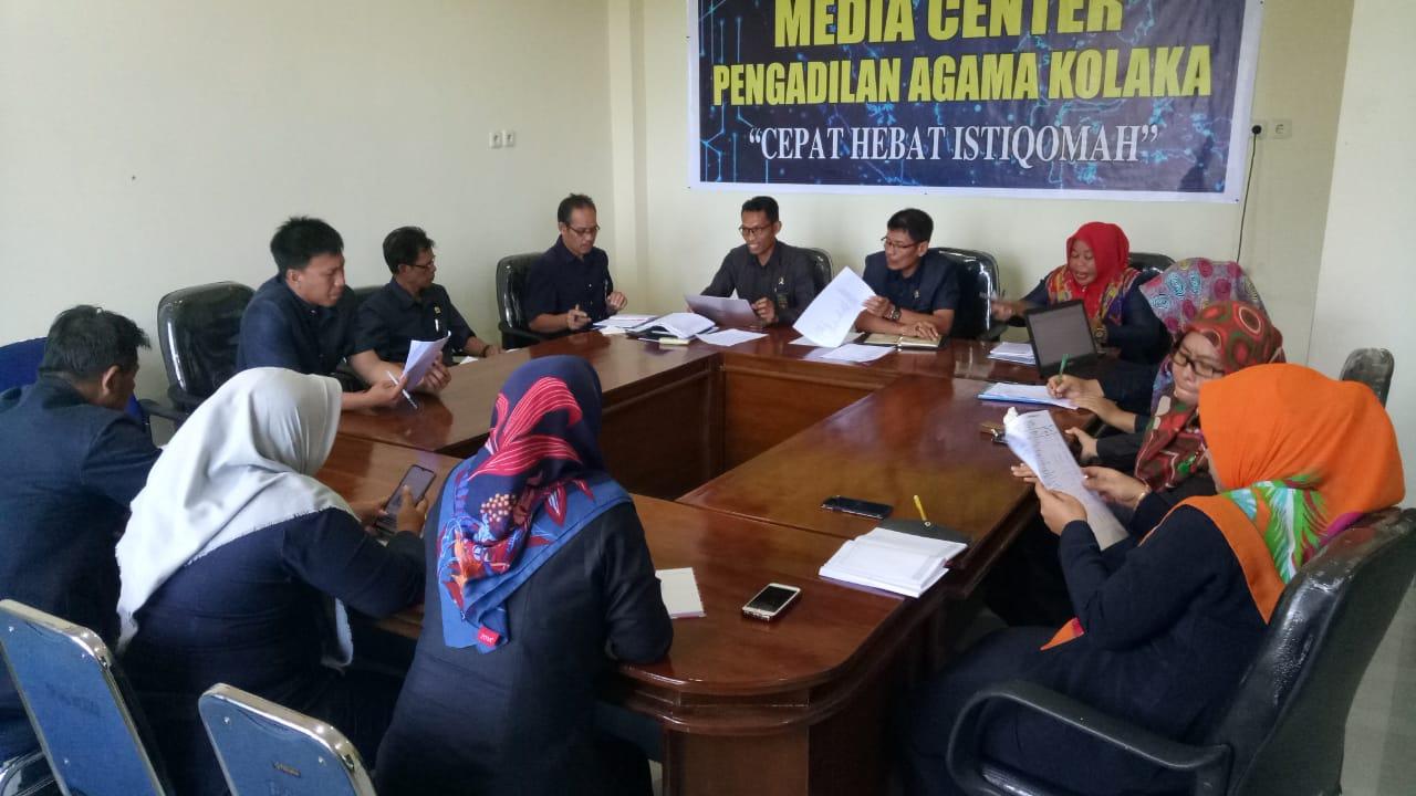 Awal Pekan Kedua Januari, PA Kolaka Selenggarakan Rapat Kerja Tahun 2020